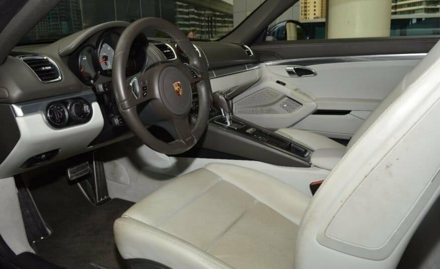 Porsche Cayman S – AED 1,993/MONTH