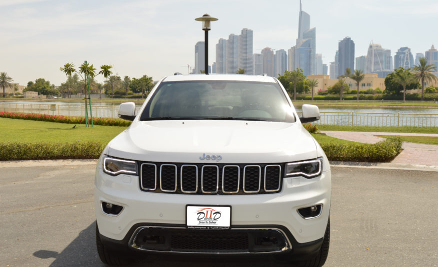 Jeep Grand Cherokee Limited- AED1,768/MONTH