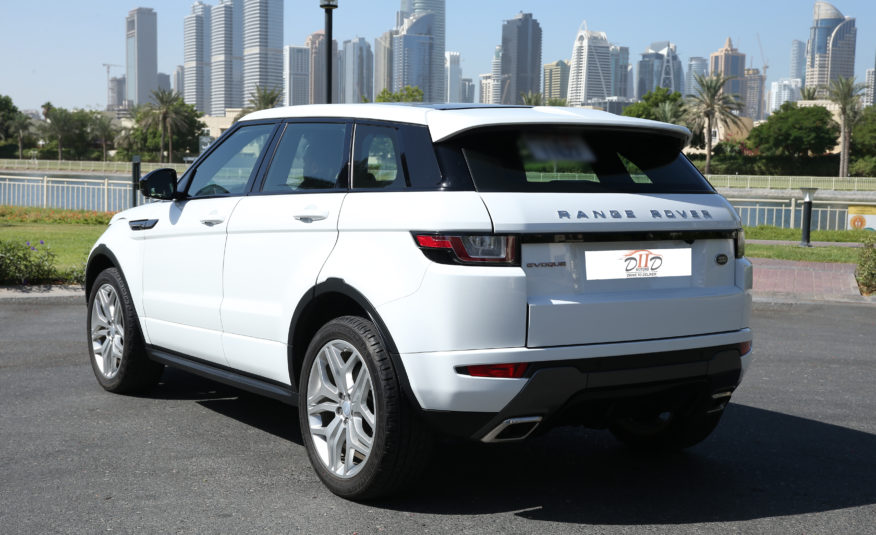 Range Rover Evoque HSE Dynamic | AED 2,084/MONTH