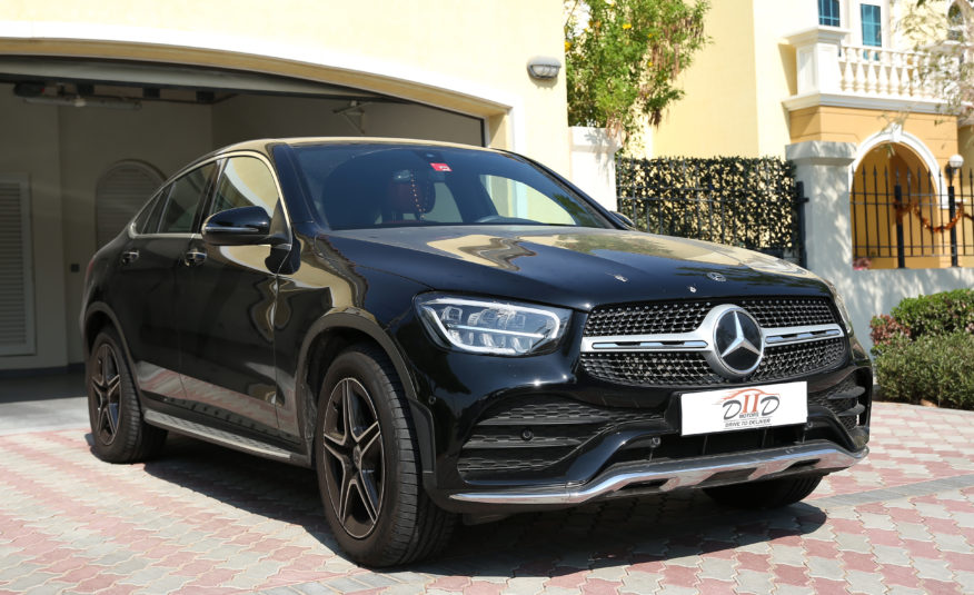 MERCEDES GLC-200 4MATIC COUPE | AED 3,000/MONTH