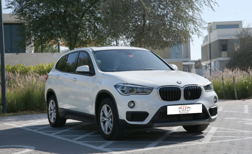 BMW X1 20i S DRIVE | AED 1,696 / MONTH