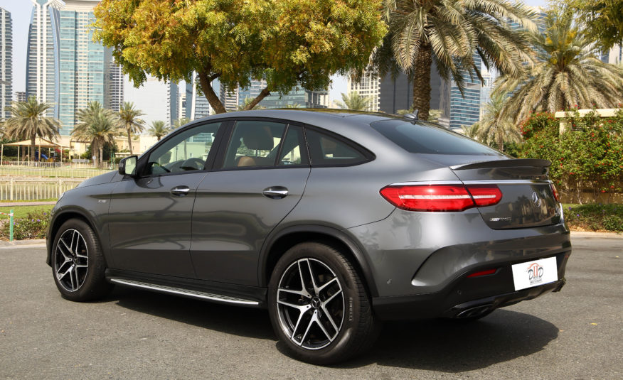 MERCEDES BENZ GLE 43 AMG 4MATIC COUPE   AED 3,866/MONTH